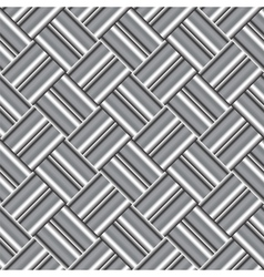 Design seamless monochrome metallic pattern vector