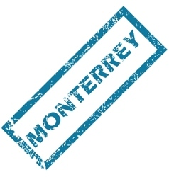 Monterrey rubber stamp vector
