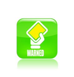 Warning icon vector