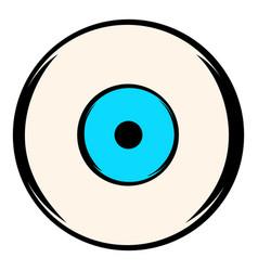 Human eye icon icon cartoon vector