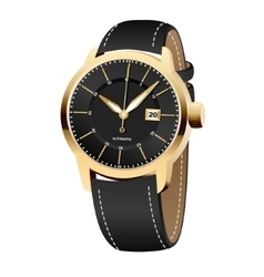 realistic watches vector image vector image