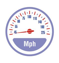 speedometer scale vector image