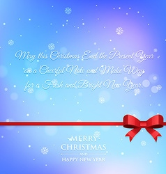 Christmas greeting wishes vector