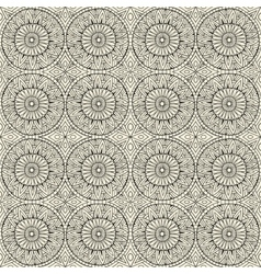 Ethnic modern hand drawn ornamental pattern vector