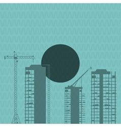 Icon of under construction design editable vector
