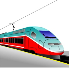 al 1120 train 01 vector image vector image