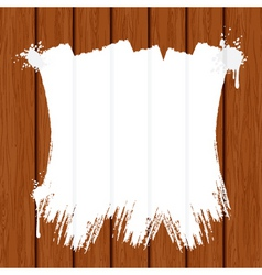 Painting wooden wall or fence vector