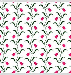 tulip pattern vector image