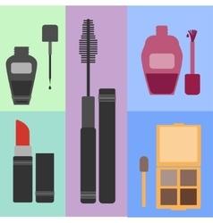 Women s cosmetic set vector image