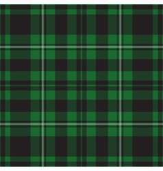 Seamless - green tartan vector