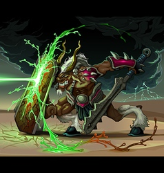 Battle 3 vector image vector image
