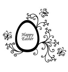 Easter dec vector