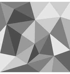 Grey flat triangle background or seamless pattern vector