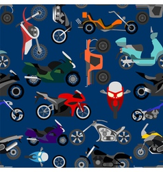 Motorcycles background seamless vector