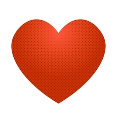 Pop art heart icon vector
