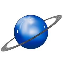 Uranus planet vector