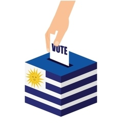Argentina elections day icon vector