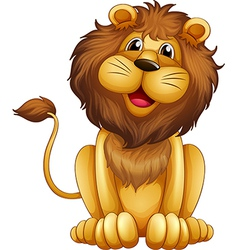 Cartoon Lion vector image vector image