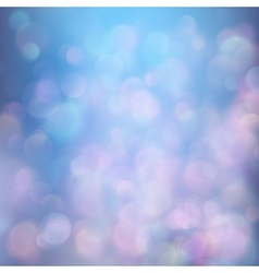 Colorful bokeh background EPS 10 vector image vector image