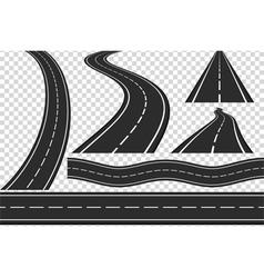Roads vector