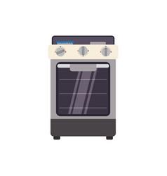 Stove household appliance vector