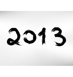Creative calligraphy 2013 eps8 vector