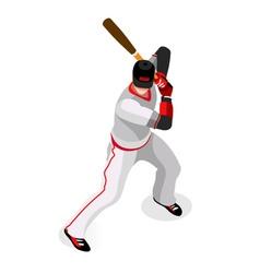 Baseball 2016 championship 3d isometric vector
