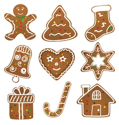 Christmas Cookies Collection vector image