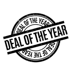 Deal Of The Year rubber stamp vector image vector image