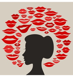 Kiss2 vector image