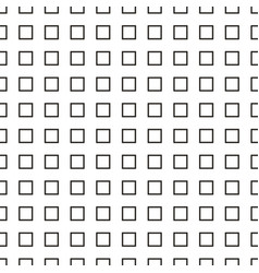 seamless pattern contours of the square vector image vector image