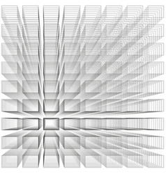 white color abstract infinity background 3d vector image vector image