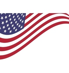 Background of american flag vector
