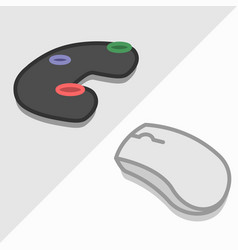 Computer and console video gaming vector