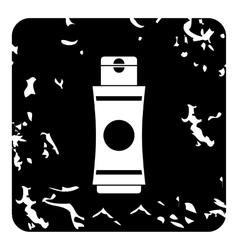 Deodorant icon grunge style vector
