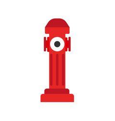 Hydrant icon fire departament equipment icon vector
