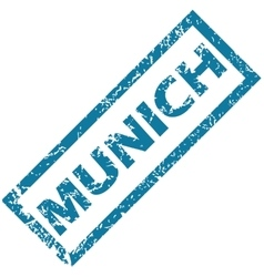 Munich rubber stamp vector