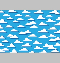 Pattern cloud background vector