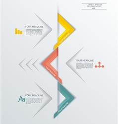 Minimal timeline infographic design can be used vector