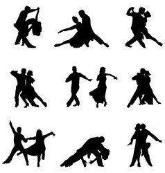 tango players vector image vector image