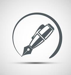 Icons pen vector