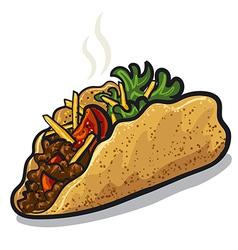 tacos vector image