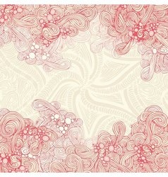 Abstract pastel red background vector