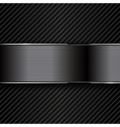 Dark metal backgrounds vector image