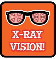 Xray vision vector