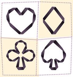 Card symbol 2 vector