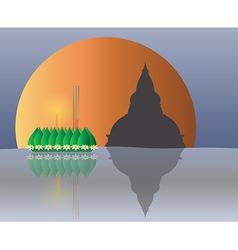 Krathong G2S vector image