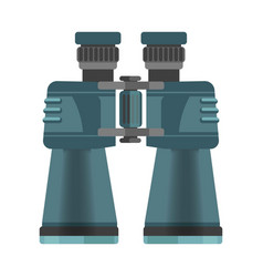 Mechanic binoculars with big zoom in mate corpus vector