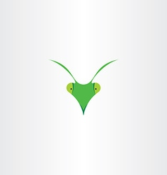 Praying mantis icon clip art vector