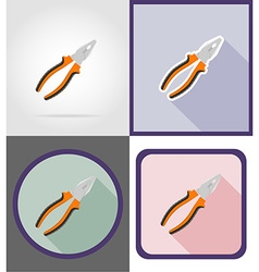 Repair tools flat icons 03 vector